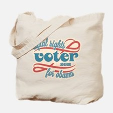 Equal Rights Voter Tote Bag