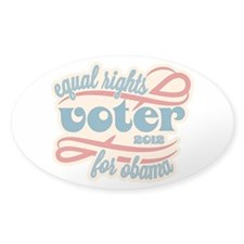 Equal Rights Voter Stickers