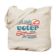 Gay Rights Voter Tote Bag