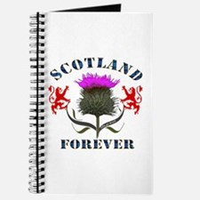 Scotland Forever Thistle Journal