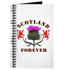 Scotland Forever Thistle Journal