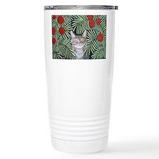 """""""Rousseau's Dream Cat"""" Travel Mug"""