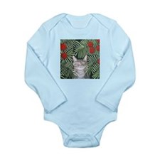 """Rousseau's Dream Cat"" Long Sleeve Infan"