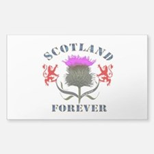 Scotland Forever Thistle Decal
