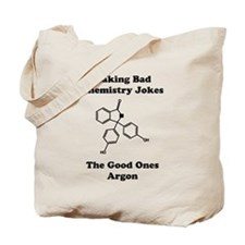 Argon Joke Tote Bag