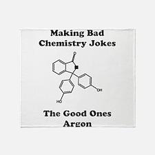 Argon Joke Throw Blanket