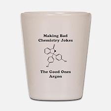 Argon Joke Shot Glass