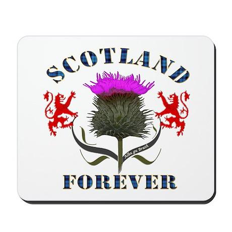 Scotland Forever Thistle Mousepad