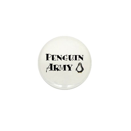 Mini Penguin Army Button