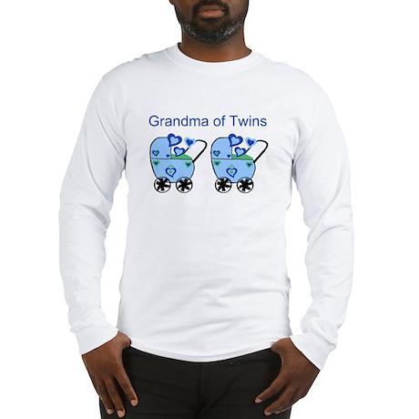 Grandma of Twins (Boys) Long Sleeve T-Shirt