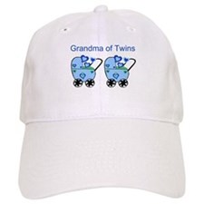 Grandma of Twins (Boys) Baseball Cap