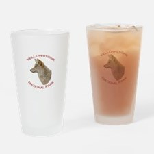 Yellowstone National Park...Coyote Drinking Glass