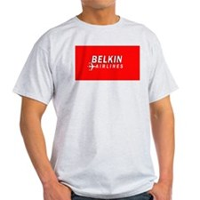 Belkin Airlines - Ash Grey T-Shirt