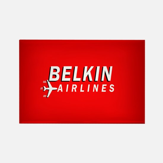 Belkin Airlines - Rectangle Magnet