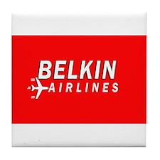 Belkin Airlines - Tile Coaster
