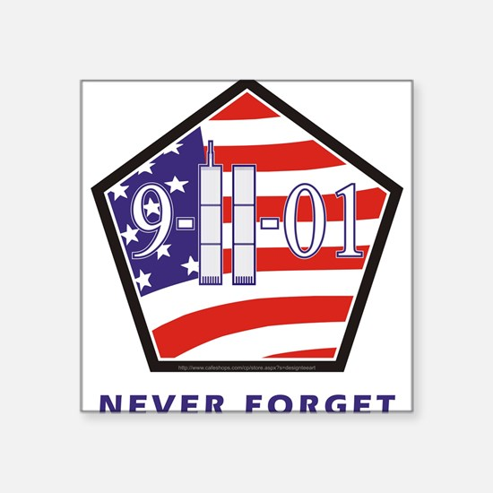 NEVER Forget - Sticker