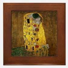 Gustav Klimt The Kiss Framed Tile