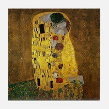 Gustav Klimt The Kiss Tile Coaster