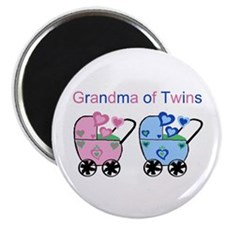 Grandma of Twins (Girl & Boy) Magnet