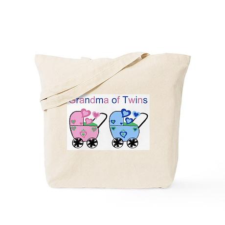 Grandma of Twins (Girl & Boy) Tote Bag