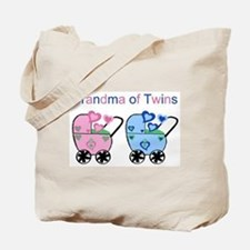 Grandma of Twins (Girl & Boy) Tote Bag