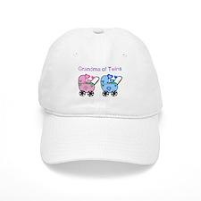Grandma of Twins (Girl & Boy) Baseball Cap