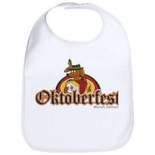 Oktoberfest Dachshund Bib