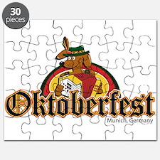 Oktoberfest Dachshund Puzzle