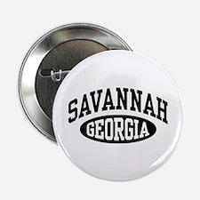 """Savannah Georgia 2.25"""" Button"""