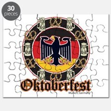 Oktoberfest Beer and Pretzels Puzzle