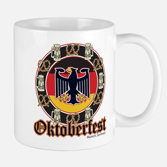Oktoberfest Beer and Pretzels Mug