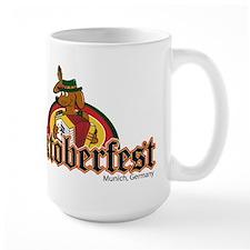 Oktoberfest Dachshund Mug