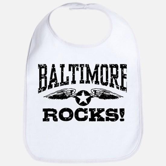 Baltimore Rocks Bib