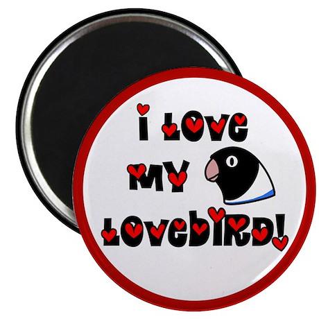 Anime Blue Lovebird Magnet