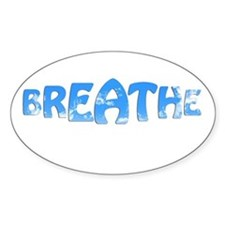 Breathe Clouds Decal