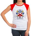 Shuster Coat of Arms Women's Cap Sleeve T-Shirt