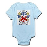 Shuster Coat of Arms Infant Creeper