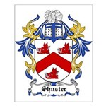 Shuster Coat of Arms Small Poster
