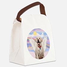 Yellow Labrador Angel Canvas Lunch Bag