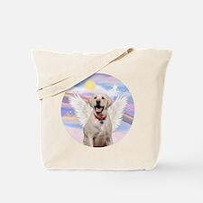 Yellow Labrador Angel Tote Bag