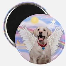 Yellow Labrador Angel Magnet