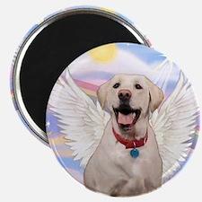 "Yellow Labrador Angel 2.25"" Magnet (10 pack)"