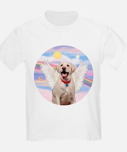 Yellow Labrador Angel T-Shirt