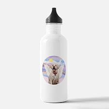 Yellow Labrador Angel Water Bottle