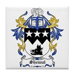 Shewal Coat of Arms Tile Coaster