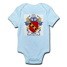 Sheild Coat of Arms Infant Creeper
