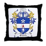 Shank Coat of Arms Throw Pillow