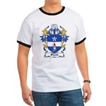 Shank Coat of Arms Ringer T