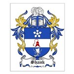 Shank Coat of Arms Small Poster