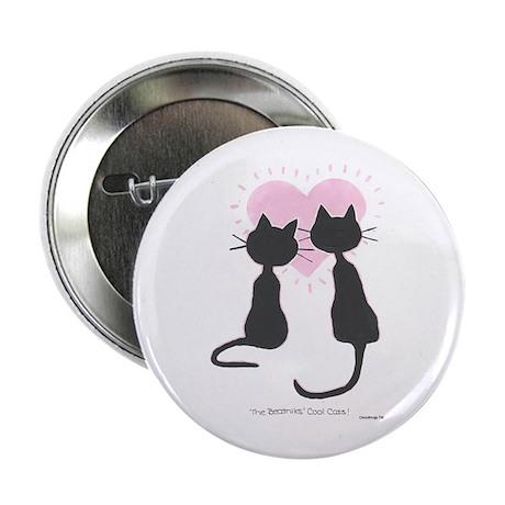 Beatniks' Cats Button
